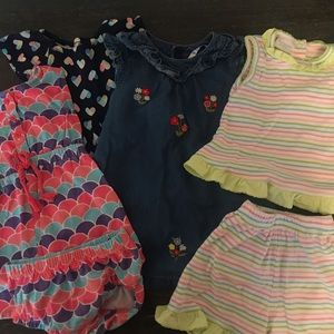 Bundle of Dresses and Two Piece Set
